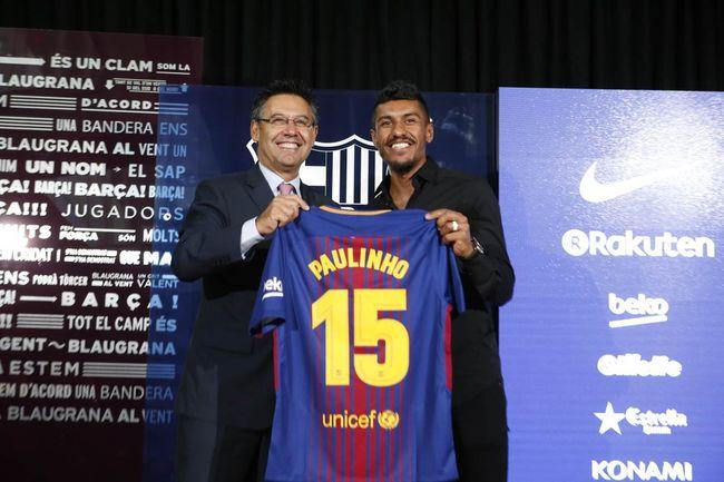 Паулиньо сделал роскошный подарок бывшему шоферу после переезда в«Барселону»