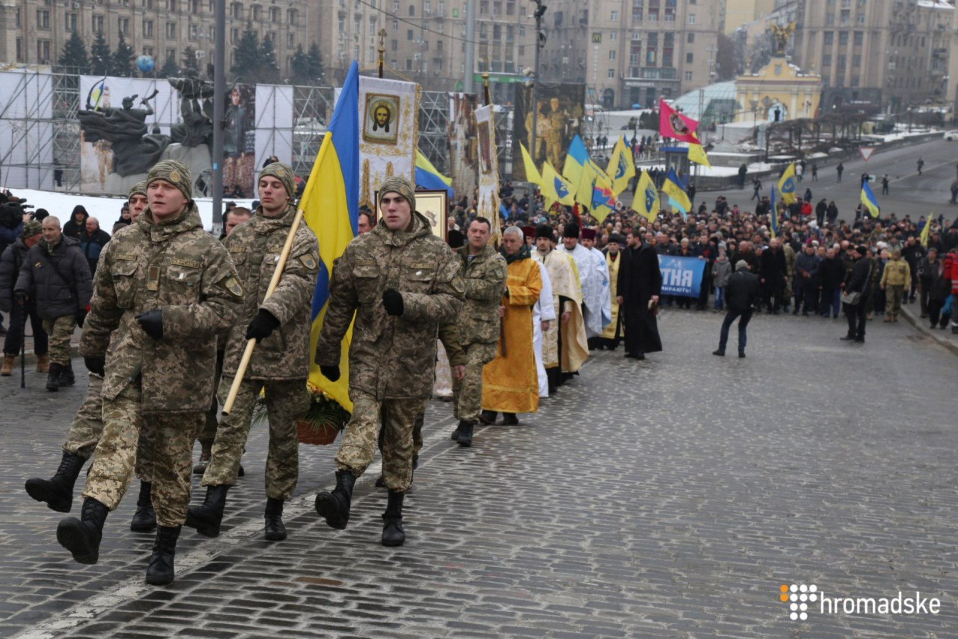 Порошенко: Выстрелы снайперов наМайдане были выстрелами противника вдушу Украинского государства