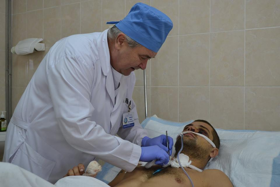 «Шествию» раненых невидно конца— Сергей Рыженко