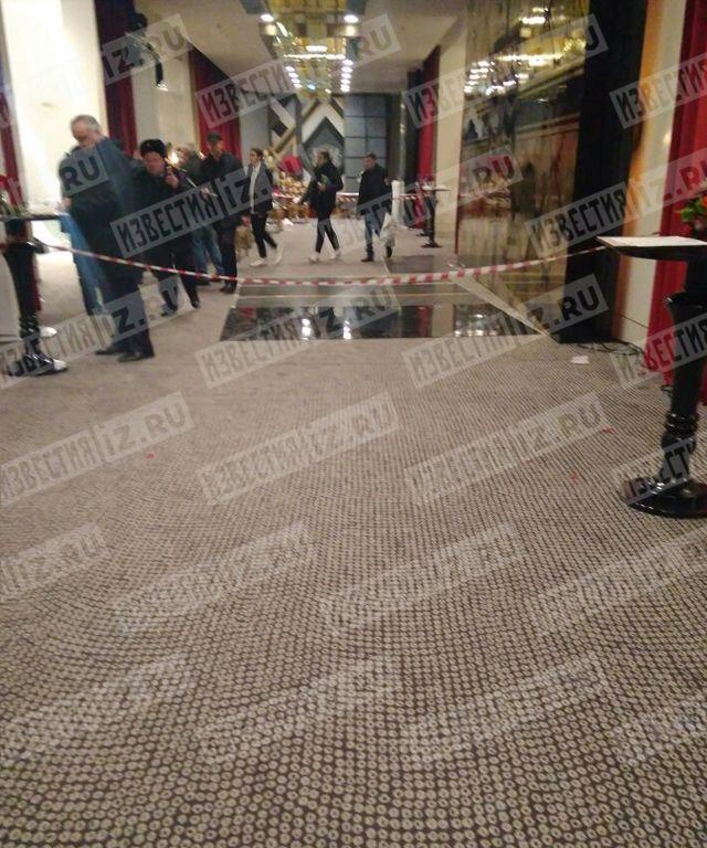 В «Москва-Сити» вресторане произошла стрельба, шесть человек ранены