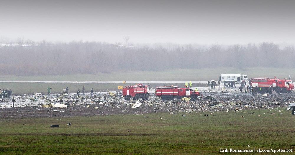 З'явилися нові кадри з місця аварії Boeing в Ростові - фото 4