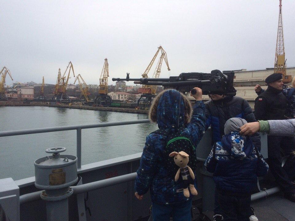 ВЧерном море проходят общие учения ВМС Украины иНАТО