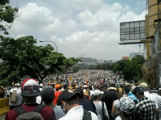 ВВенесуэле прошла акция «мать всех протестов», есть жертвы