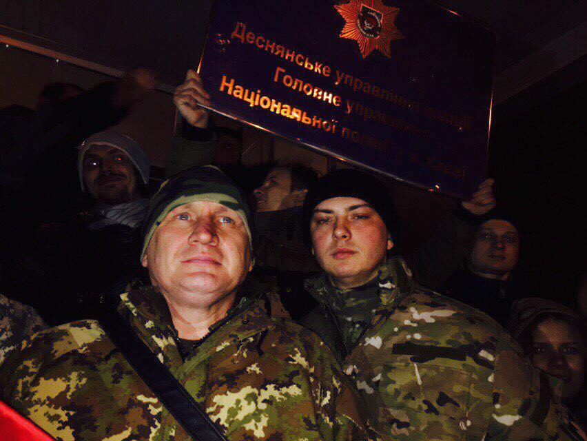 ВКиеве отпущены все схваченные впроцессе столкновения намитинге