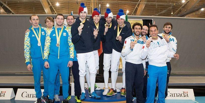 Украинские шпажисты стали призерами наэтапе Кубка мира