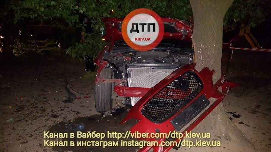 П'яний водій «Ягуара», який збив трьох людей, мав «корочку» правоохоронця