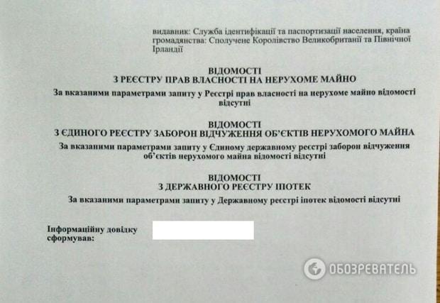 У Грэма Филлипса обнаружили квартиру в Одессе (документ)