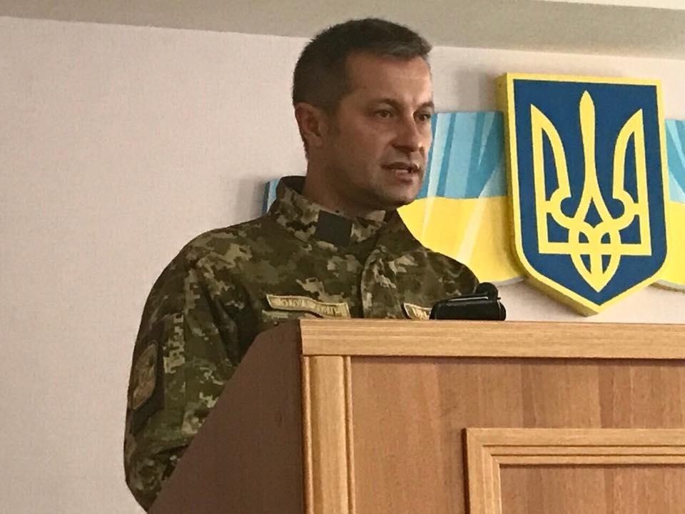 Новим військовим прокурором сил АТО став Ціцак: Луценко представив його уКраматорську