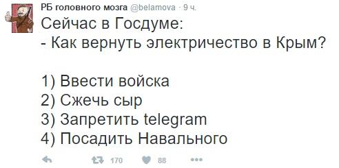 Через год Крым перестанет зависеть от украинской электроэнергии, - спикер Совфеда РФ Матвиенко - Цензор.НЕТ 2676