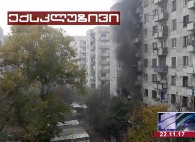 УТбілісі 15 годин триває спецоперація: терористи влаштували перестрілку, підірвано дві квартири