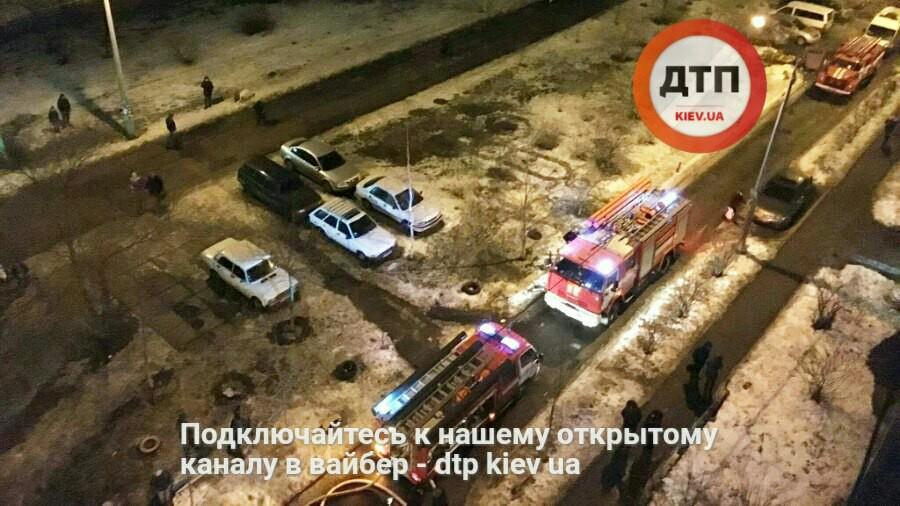 ВКиеве произошел смертоносный пожар