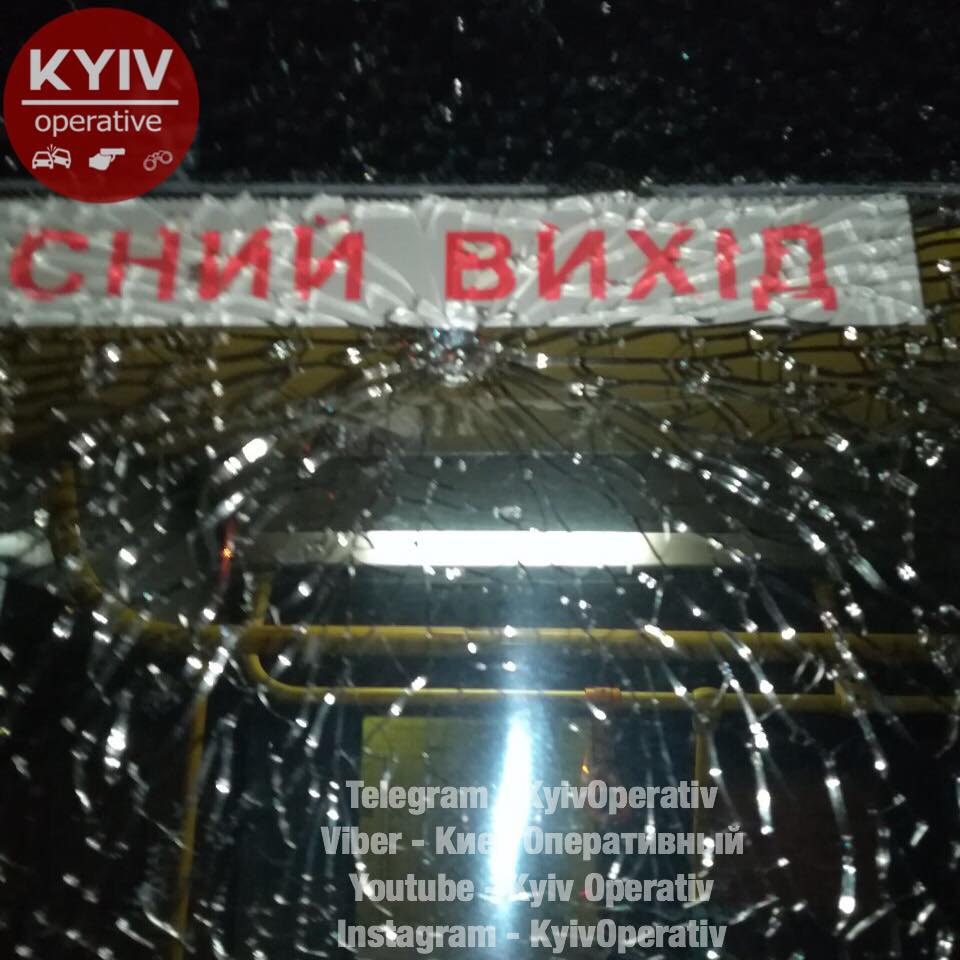 ВКиеве дети расстреляли изпистолета троллейбус
