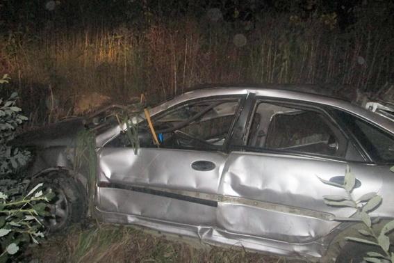Авто согнуло вдвое в итоге ужасного ДТП наЗакарпатье
