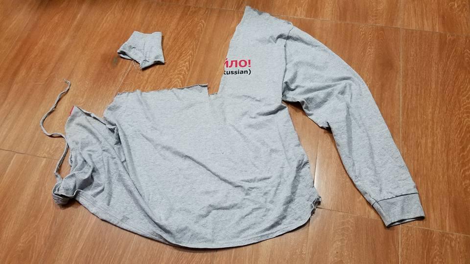 Русский турист напал наукраинском через его футболку