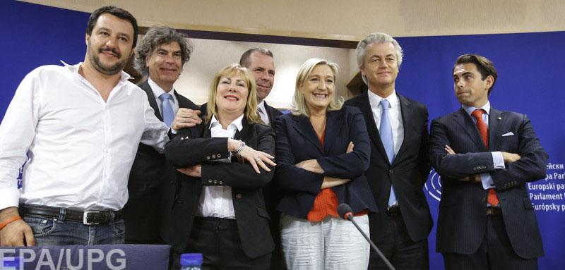 9e0fb27bb347 Слева направо депутаты Европарламента фракции