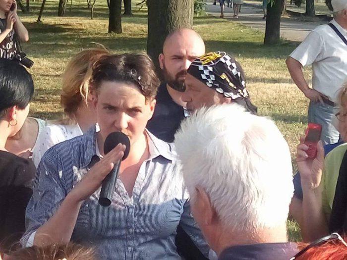 УМиколаєві закидали яйцями Надію Савченко: опубліковано фото і відео