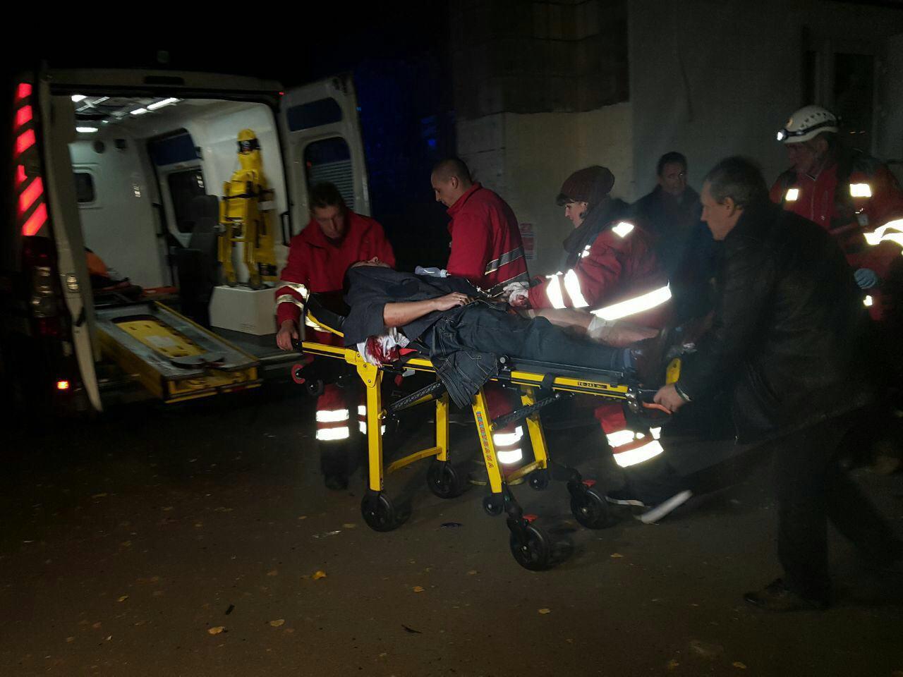 Вкиевской клинике  поведали  осостоянии пережившего покушение Мосийчука