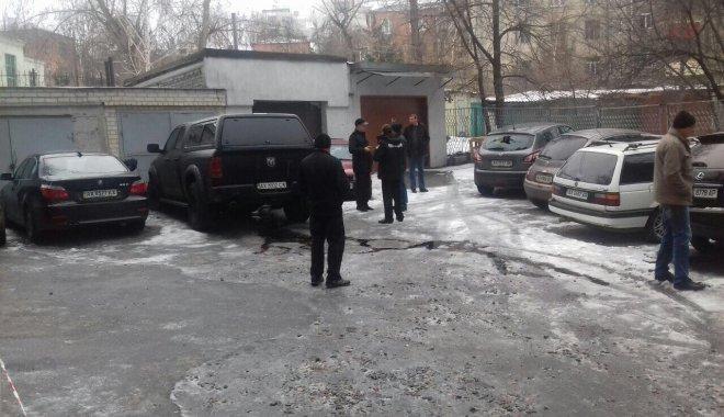 ВХарькове взорвали авто одного из управляющих милиции