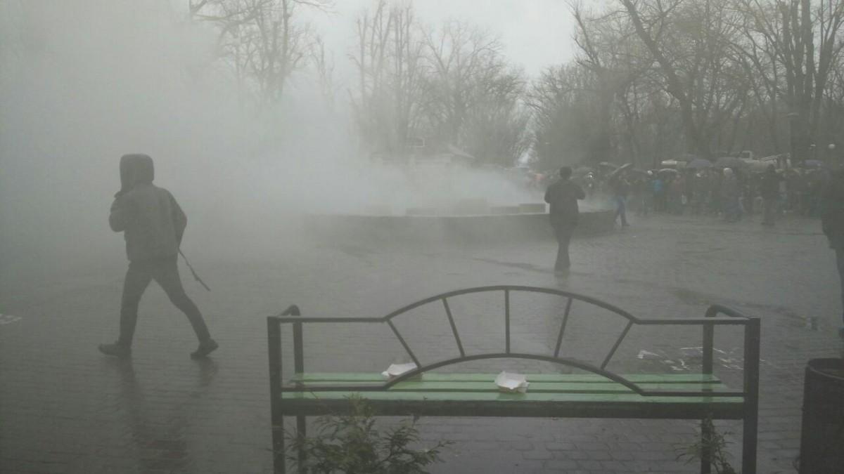 ВКраснодаре прошёл несанкционированный митинг приверженцев Алексея Навального