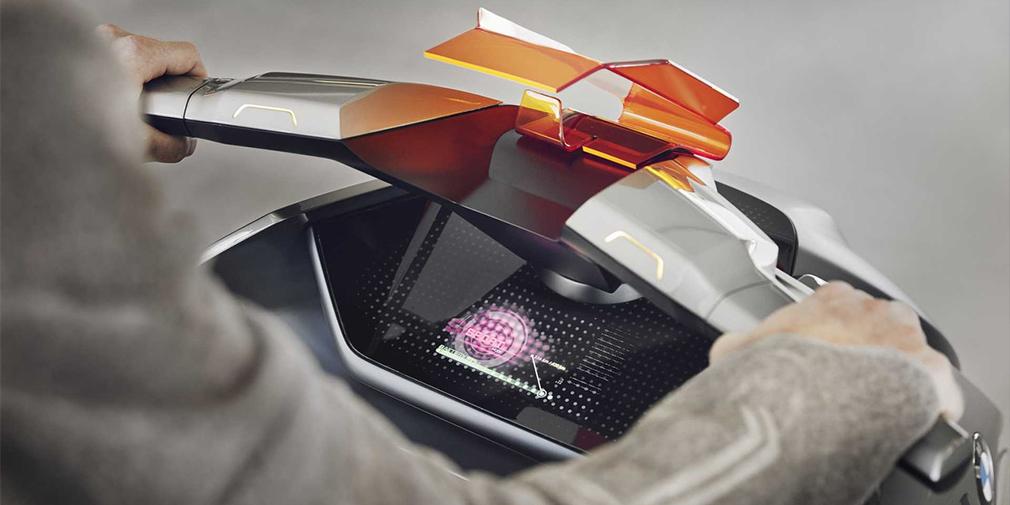 Представлен электроскутер будущего БМВ Concept Link