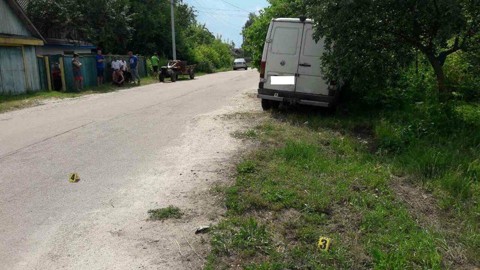 ВЖитомирской области микроавтобус сбил 2-х мальчиков