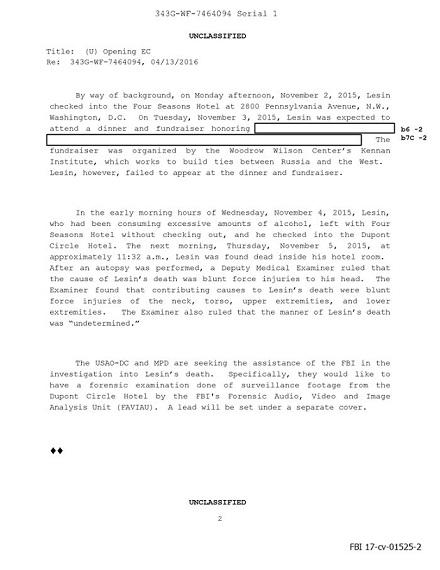 ФБР назвало причину смерті екс-голови «Газпром-медіа» уСША