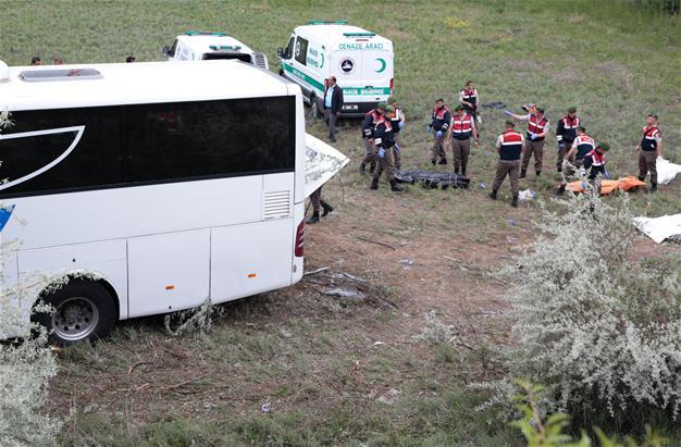УТуреччині перекинувся пасажирський автобус, 8 людей загинули