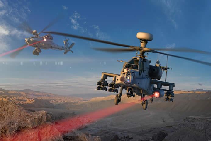 В США вертолет впервые сбил беспилотник с помощью лазера
