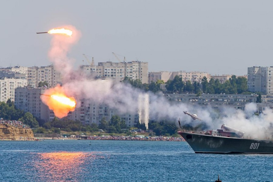 Росія проводить в окупованому Криму військові навчання з використанням ракетних комплексів - Цензор.НЕТ 8022