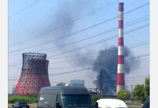 Впожаре наскладе автозапчастей вХарьковской области пострадали двое мужчин