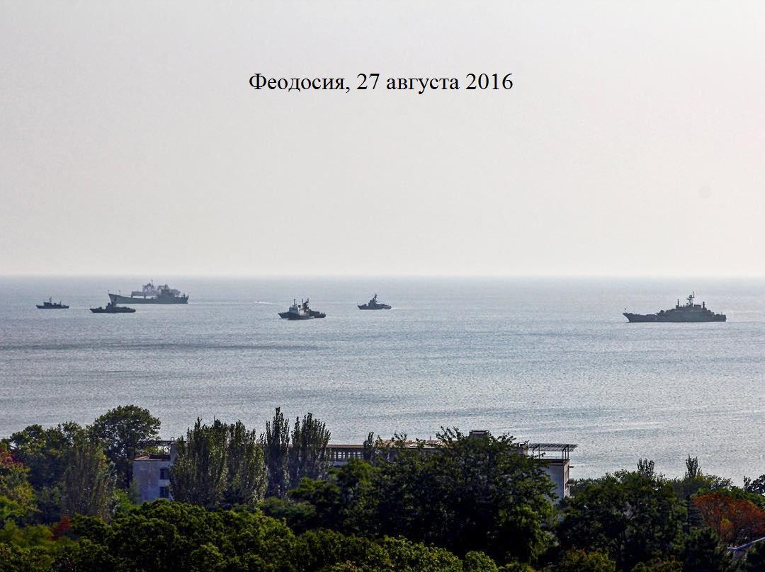 РФ стягивает вКрым авиацию ивоенные корабли