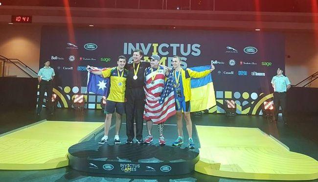 Капитан украинской команды на«Играх непокоренных» завоевал золото вгребле натренажерах