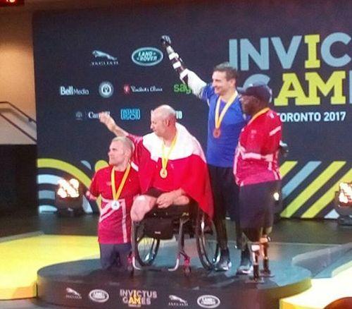 Invictus Games: капитан украинской команды завоевал золото