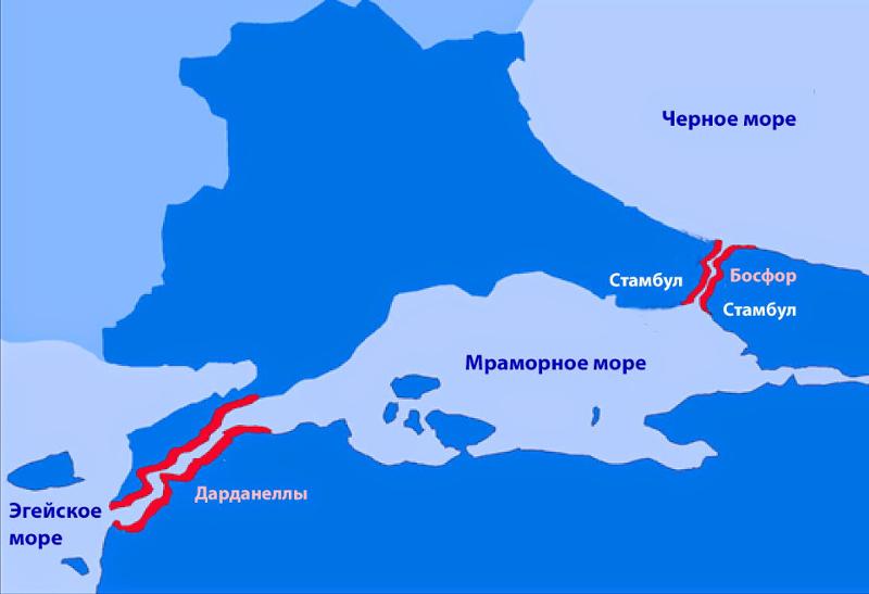 турция закрыла босфор и дарданеллы для россии