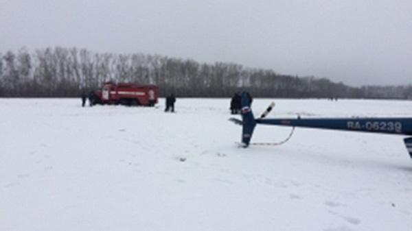 ВТамбовской области разбился вертолет