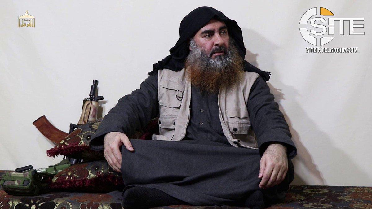 Аль-Багдади появился на видео впервые за пять лет