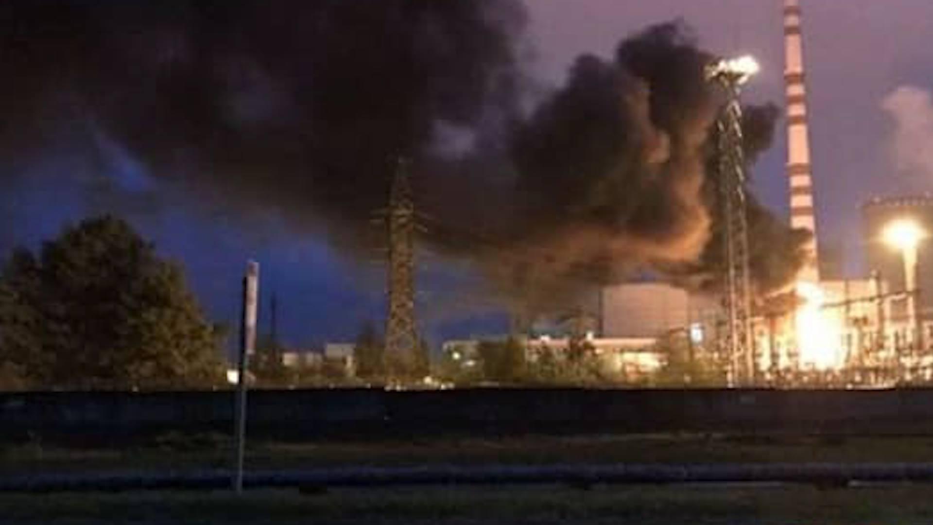НаРовенской АЭС произошел пожар: фото, видео ипоследние детали