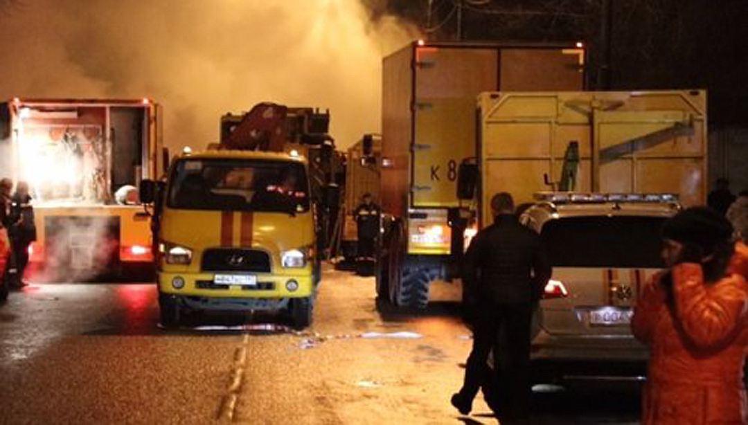 В столице произошла крупная авария натепломагистрали: восемь пострадавших