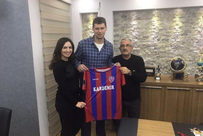 Александр Рыбка— игрок «Карабюкспора»