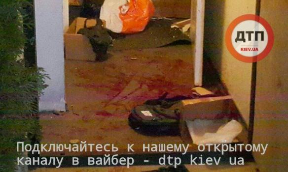 Вцентре украинской столицы произошла стрельба, тяжело ранены двое человек