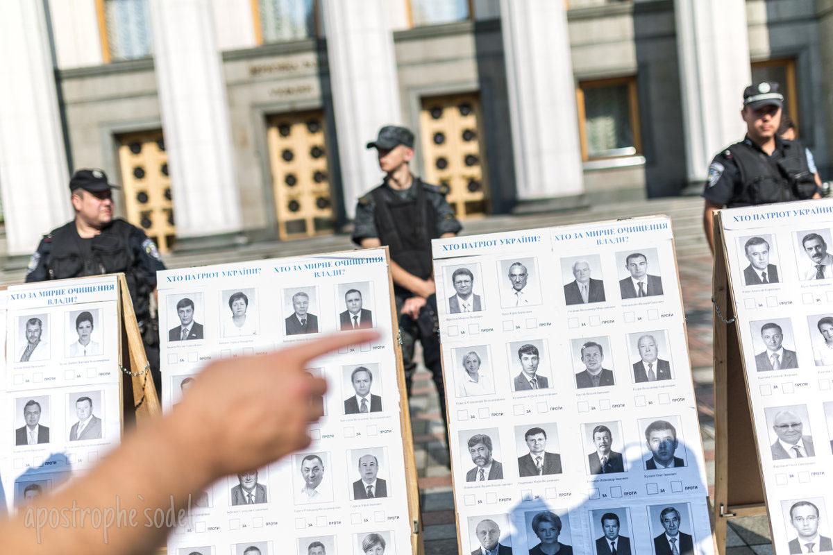 Свои должности сохранили руководители АП, МВД и судьи-миллионеры