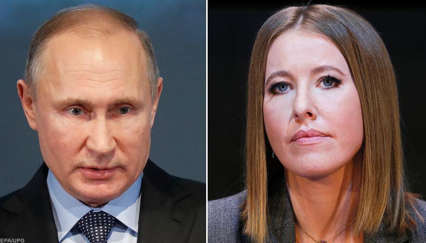 Слава Рабинович поставив Собчак питання щодо Путіна