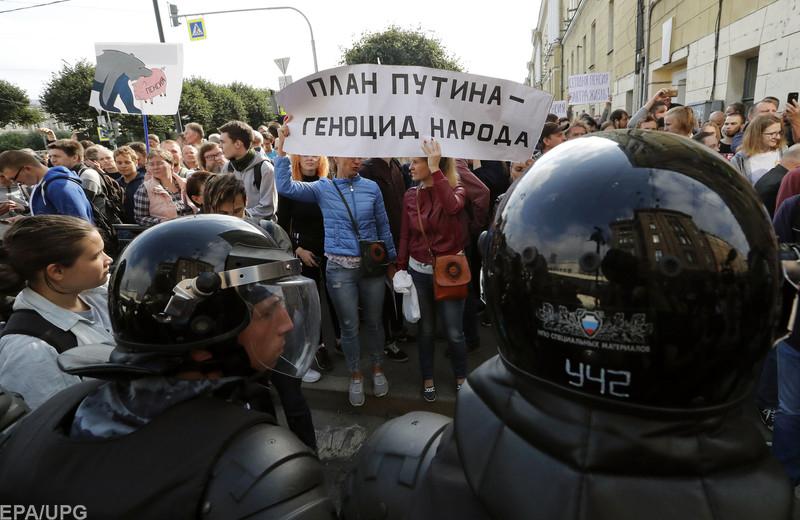 Константин Боровой о воскресных протестах в России