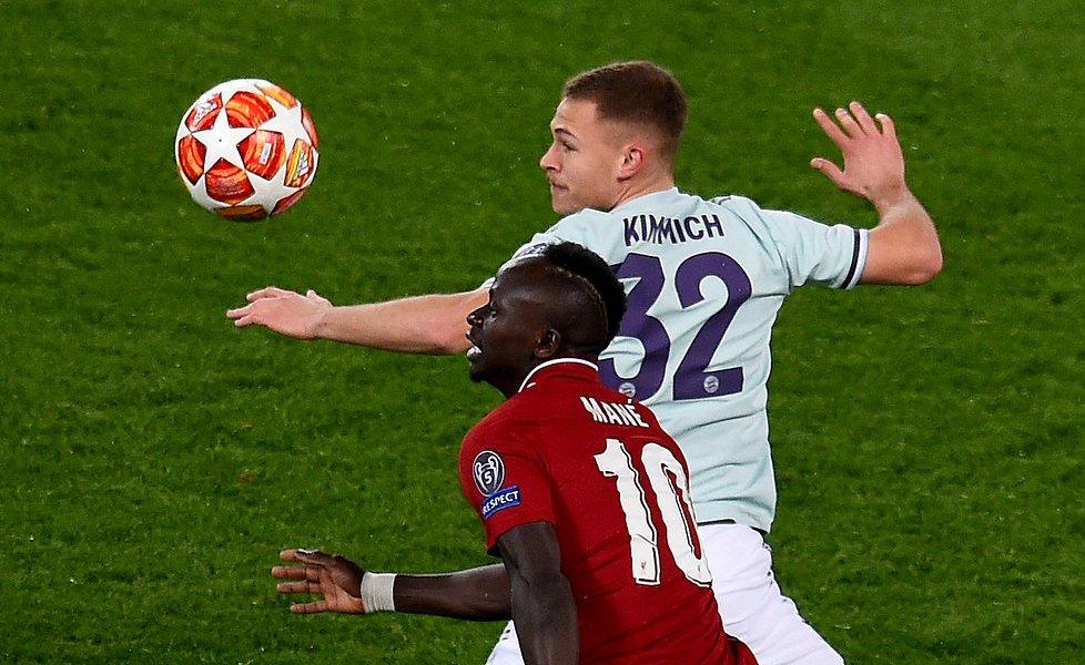 Бавария и Ливерпуль провели ответный матч 1/8 финала Лиги чемпионов