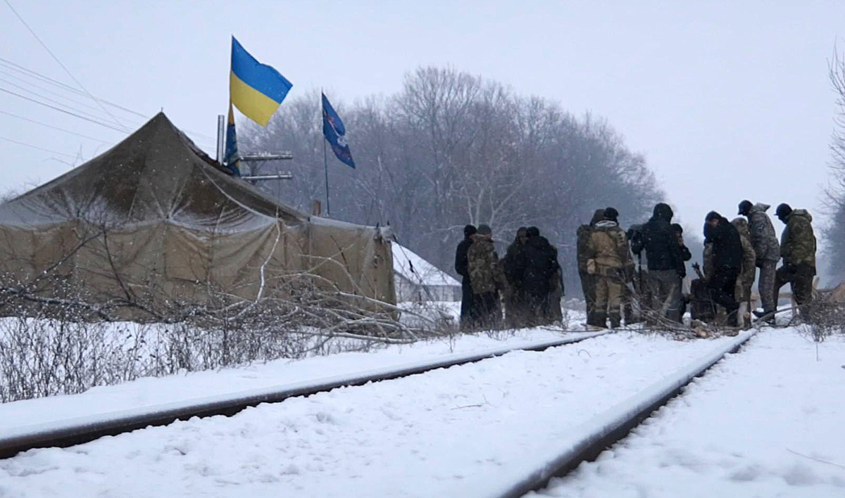 Тему блокады угля крутят к годовщине расстрела Майдана