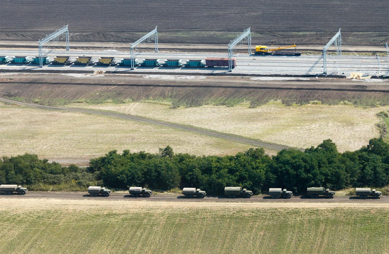 В России придумали новый способ маскировки доставки военных грузов на Донбасс