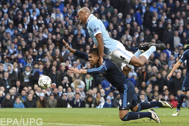 Полуфинальные баталии в Лиге чемпионов стартовали интригующей встречей в Манчестере