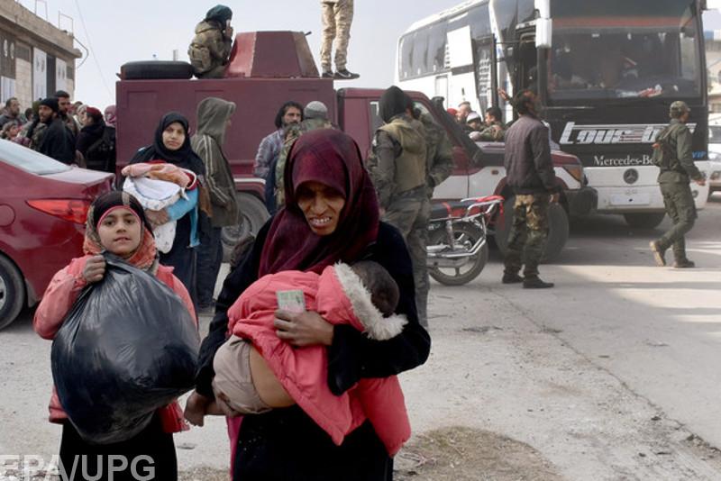 Российские силы и войска Асада установили контроль над руинами