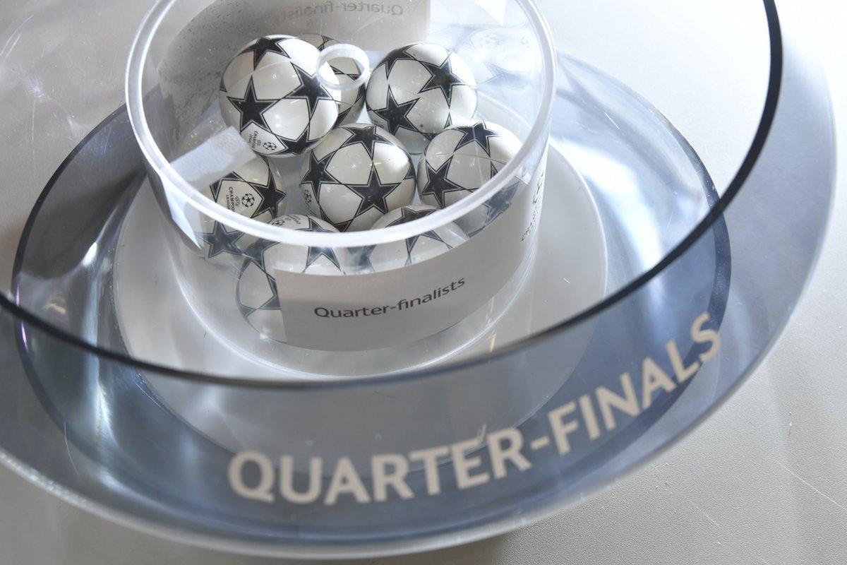 В Ньоне определились пары 1/4 финала Лиги чемпионов