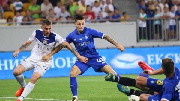Динамо разгромило Львов в матче чемпионата Украины